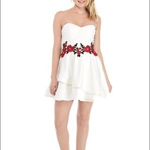 B. Darlin Party Dress Sweetheart with Floral